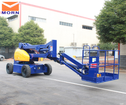16m electric boom lift from Morn
