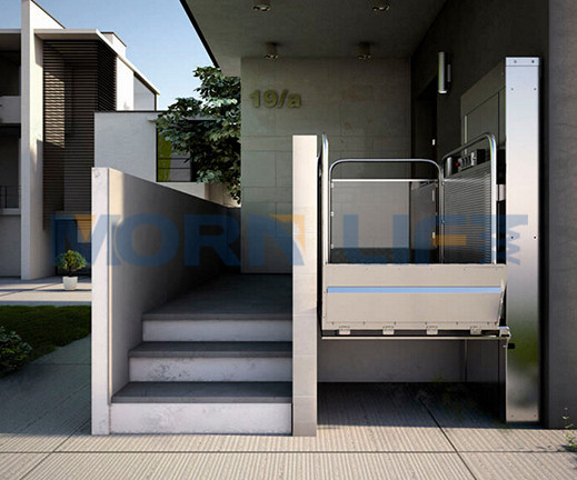 3.5m electric wheelchair lift from MORN