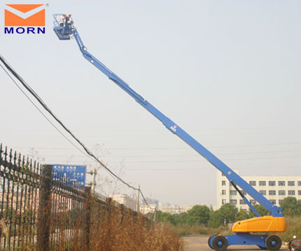 32m boom lift hire from Morn