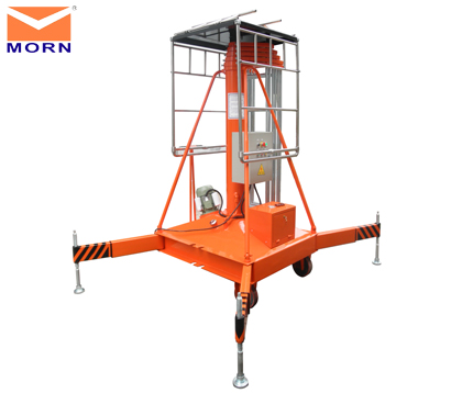 Vertical lift always used as vertical cargo lift platform and