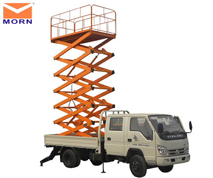 6m 300kg truck mounted scissor lift