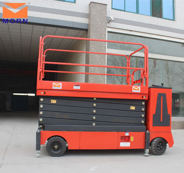 Cheap self-propelled scissor lift