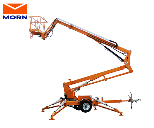 Diesel Trailing Boom Lift for Sale 10m