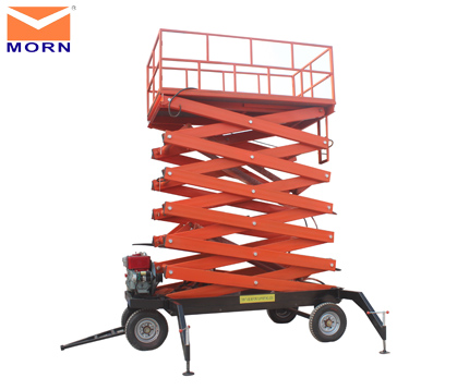 Mobile man lift for sale 12m