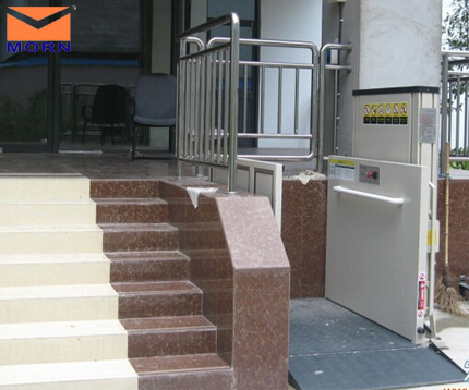 Vertical lift always used as vertical cargo lift platform and ...