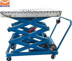 Small electric scissor lift table 200kg 2m