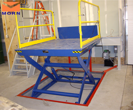Small scissor lift 1t 1.5m