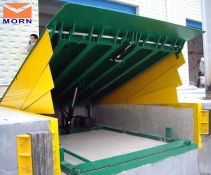 Stationary truck loading ramps 8t